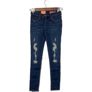 Girls BlankNyc Super Skinny Distressed Jeans